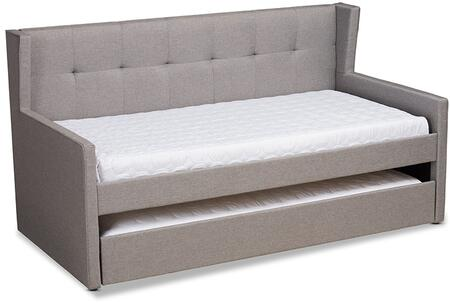 Wholesale Interiors Giorgia CF9018-Grey-Daybed side
