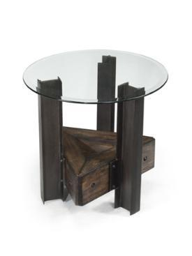 Magnussen T221505 Rowan Series Contemporary Round End Table