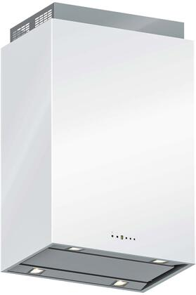 """Futuro Futuro IS36LOMBARDYx 36"""" Lombardy Series Range Hood with 940 CFM, 4-Speed Electronic Controls, Delayed Shut-Off, Filter Cleaning Reminder, and in x"""