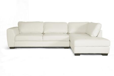 Wholesale Interiors Orland IDS023-WHITE-RFC Front