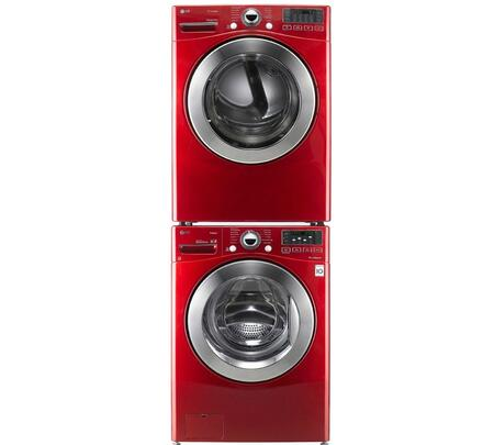 LG WM3070HRASTKPAIR2 Washer and Dryer Combos