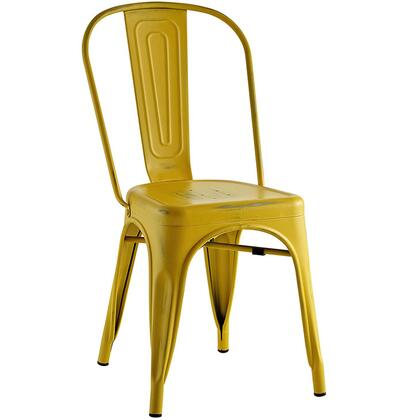 """Modway Promenade Collection 17"""" Side Chair with Eclectic Decor and Vintage Distressed Finish"""