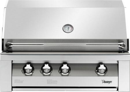 Vintage VBQ36GLP Built In Grill, in Stainless Steel