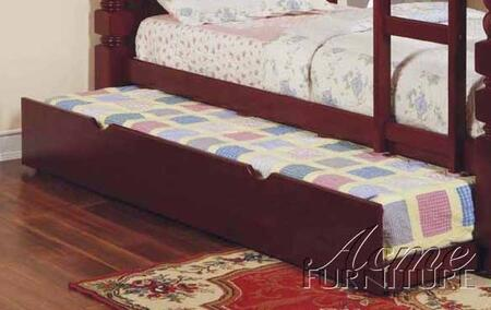 Acme Furniture 0257C Benji Trundle for Bunk Bed with Selected Hardwoods and Veneers in