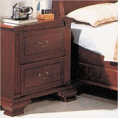 Yuan Tai 2803N Audrey Series Rectangular Wood Night Stand