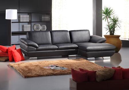 VIG Furniture VGCA26919 Divani Casa Series Stationary Leather Sofa
