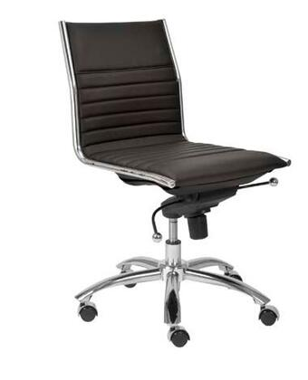 "Euro Style 01266BLK 21"" Contemporary Office Chair"