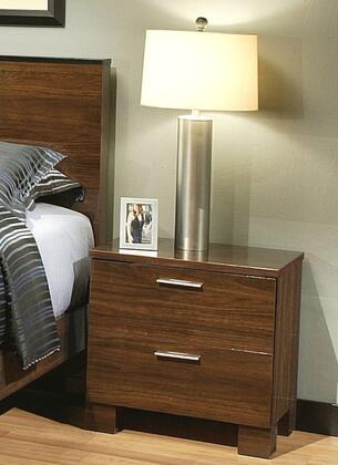 Sandberg 34022 Vincenzo Series Rectangular Wood Night Stand