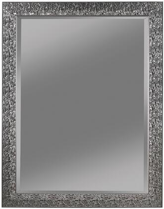 "Coaster Accent Mirrors 44"" x 56"" Accent Mirror with Beveled Edge and Colored Mosaic Frame in"