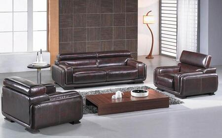 VIG Furniture VGBNBO3919 Modern Leather Living Room Set