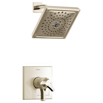 Zura T17274-PN Delta Zura: Monitor 17 Series H2Okinetic Shower Trim in Polished Nickel