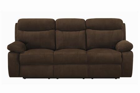 Coaster 600611  Reclining Microfiber Sofa