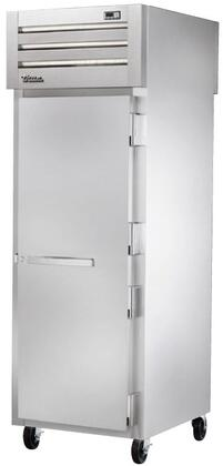 True STG1RPT-1SS Spec Series Pass-Thru Refrigerator with 31 Cu. Ft. Capacity, LED Lighting and Solid Front and Rear Swing-Doors
