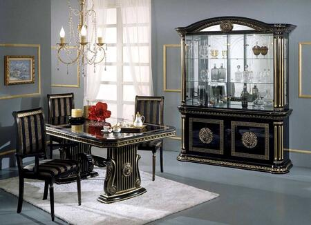 VIG Furniture VGACROSELLABLKDT8PCSET Rosella Dining Room Tab