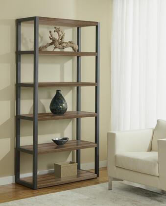 Unique Furniture P391676 Open High Bookcase