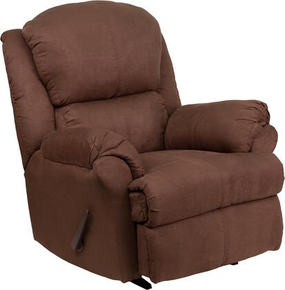 Flash Furniture AM49598019GG Contemporary Beijing Series Traditional Microfiber Wood Frame  Recliners