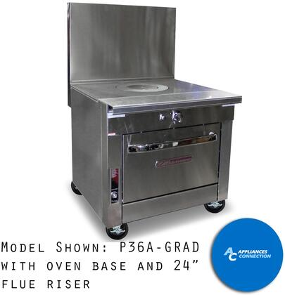 """Southbend P36GRAD Platinum Series 36"""" Graduated Hot Top with a Standard Burner and Battery Spark Ignition, Up to 62000 BTUs (NG)/42000 BTUs (LP)"""