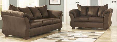 Milo Italia MI2374382PCKITCAFE Tristian Living Room Sets