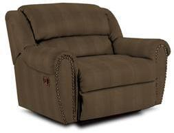 Lane Furniture 21414401320 Summerlin Series Transitional Fabric Wood Frame  Recliners