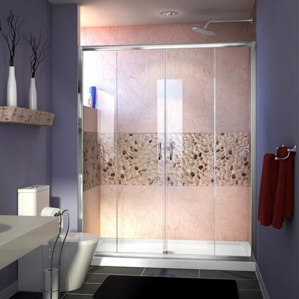 Visions Shower Door RS38 12P 16D 16D 12P C E