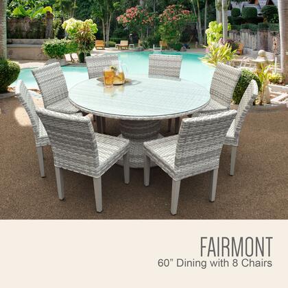 Tk classics fairmont60kit8 patio sets appliances connection for Outdoor furniture 0 finance