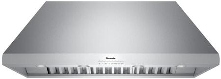 Thermador Professional HPCN48NS 48-Inch Chimney Wall Hood with 24-Inch Depth