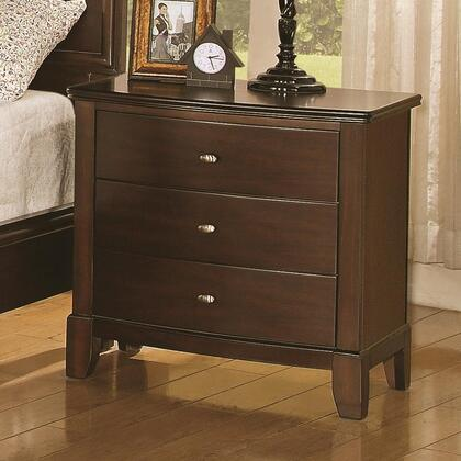 Coaster 202452 Addley Series Rectangular Wood Night Stand