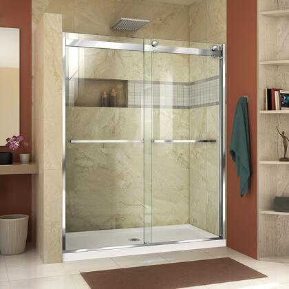 Essence H Shower Door RS46 01 B Center Drain