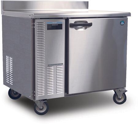 "Hoshizaki HWRXXA XX"" Professional Series Worktop Refrigerator with XX cu. ft. Capacity, EverCheck System, 115 Volts, Stainless Steel Exterior and Interior, and Removable Refrigeration System: Stainless Steel"