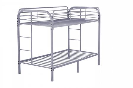 Glory Furniture G0016GRAY  Twin Size Bunk Bed
