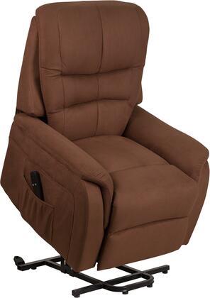 Flash Furniture CH US 153062L BRN MIC GG