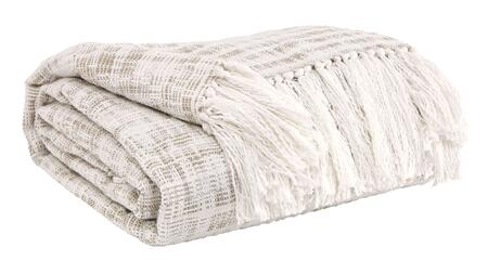 Signature Design by Ashley Cassbab A100008XT Decorative Throw is 100% Cotton and Machine Washable in