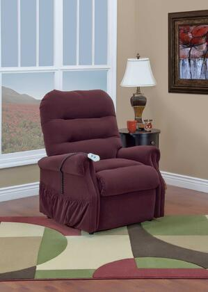 MedLift 3053WEW Contemporary Fabric Wood Frame  Recliners
