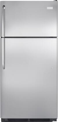 Frigidaire FFHI1826PS Freestanding Top Freezer Refrigerator with 18.3 cu. ft. Total Capacity 2 Glass Shelves 4.1 cu. ft. Freezer Capacity