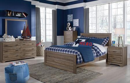 Milo Italia BR2386PCFP6DDPM22DN5DCKIT1 Manning Full Bedroom