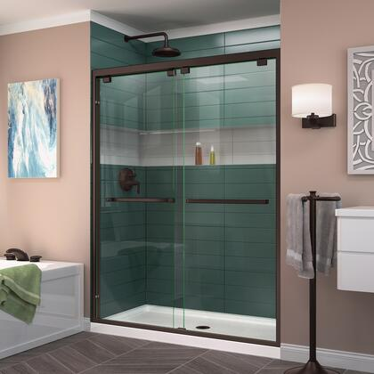 DreamLine Encore Shower Door RS50 06 B CenterDrain
