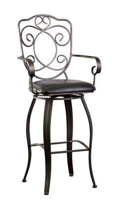 Powell 222486 Miscellaneous Bars & Game Room Series Residential PVC Upholstered Bar Stool