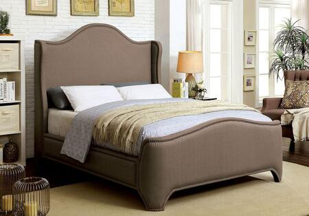 Furniture of America CM7516EKBED Rebecca Series  King Size Bed