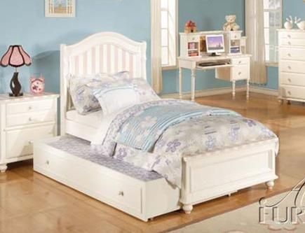 Acme Furniture 11030F Zoe Series  Full Size Bed