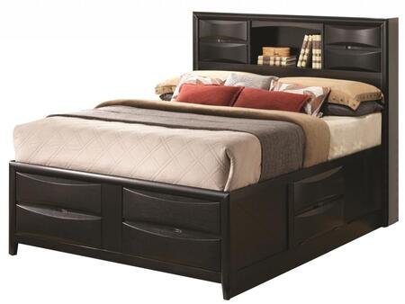 Coaster 202701Q Briana Series  Queen Size Bookcase Bed