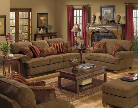 Jackson Furniture 434702K3 Traditional Fabric: Chenille Living Room Set