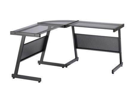 Euro Style 27648BLK  Office Desk