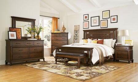 Broyhill 4364CKPANELNCDMB Estes Park California King Bedroom
