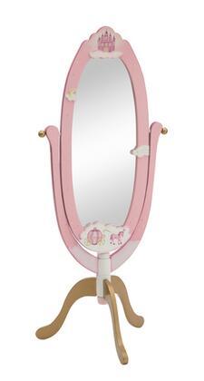 Guidecraft G86310 Princess Series Oval Portrait Freestanding Mirror