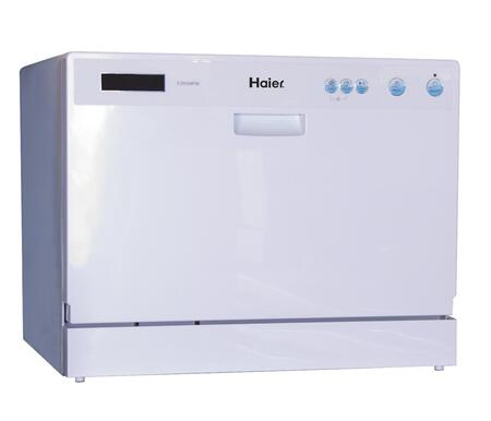 Haier Hdc2406tw Countertop Full Console Dishwasher With In