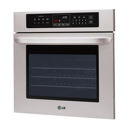 Lg Lws3010st 30 Inch Single Wall Oven In Stainless Steel