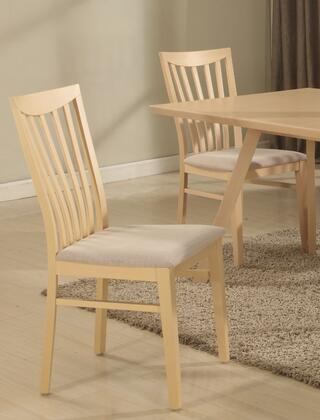 Chintaly CARMENSC2SET Carmen Dining Room Chairs