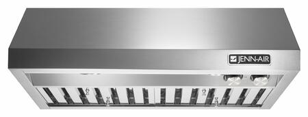 Jenn-Air JXU913xWP Pro-Style Low Profile Under Cabinet Range Hood with 600 CFM, 4 Fan Speeds, Halogen Lighting, in Stainless Steel