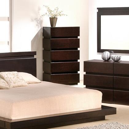 JandM Furniture Knotch 5 Drawer Chest 1754426 C