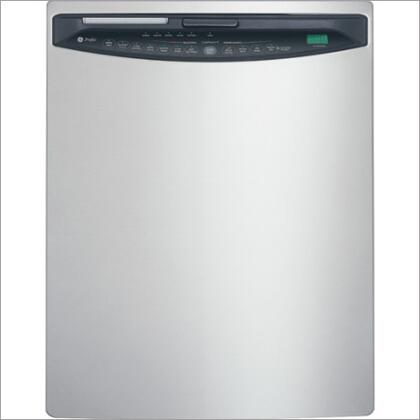 GE PDWF788PSS Profile Series Built-In Full Console Dishwasher with in Stainless Steel
